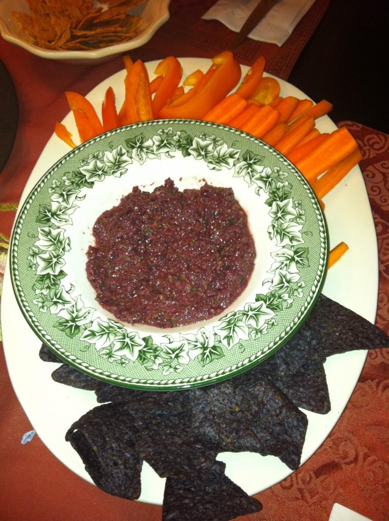 A Festive Orange And Black Halloween Rice Dish Recipe ...